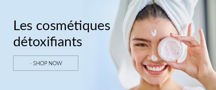 Les cosmétiques détoxifiants